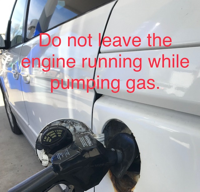 PUMPING GAS WITH CAR RUNNING – HOW DANGEROUS IS IT?
