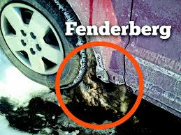 """Tire Talk: Dangerous '#fenderbergs' prevent tires from turning """