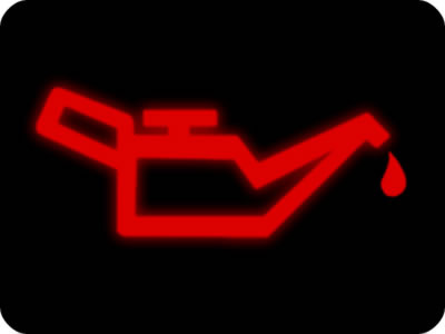 Oil Pressure Warning Light