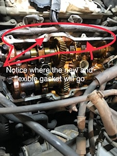 """How serious is a cracked Valve Cover Gasket?"""