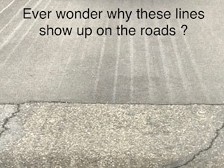 Why are there lines on the street?