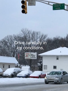 TIPS FOR DRIVING IN THE SNOW. ALWAYS BE PREPARED.